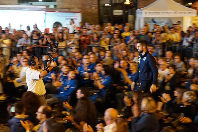 Presentazione della Vanoli Basket Cremona 2016/2017